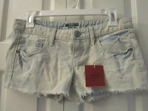 Mossimo  Distressed Jean Shorts   3  5  NWT