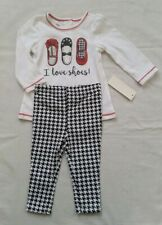 Baby Girl T-shirt and Leggings Outfit 6-9m