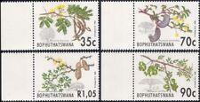 Bophuthatswana 1992 árboles de Acacia/plantas/Naturaleza/fruta/Negro Espina 4 V Set (n18724)