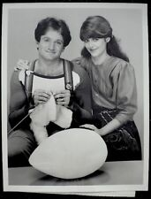 Robin Williams Pam Dawber Mork & Mindy Press Photo 1981 ABC Snipe Date Stamp VTG