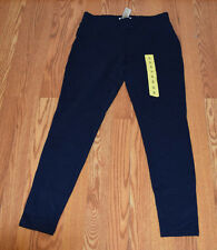 280907461af5a5 NWT Womens MATTY M Cadet Navy Stretch Faux Pocket Leggings Pants XS X-Small