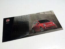 2012 Fiat 500 Pop Port Lounge Cabrio Brochure