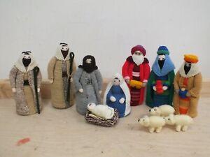 Hand Knitted Christmas Nativity Set (Hol)