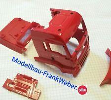6721 Kabine Fahrerhaus rot MAN  1:32 siku control 1/32 Lkw Truck RC