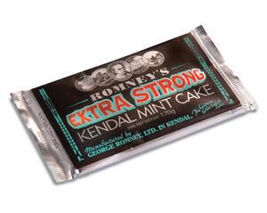 Kendal Mint Cake Romney's  Extra Strong Kendal Mintcake   1 x 170g Bar