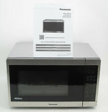 New listing Panasonic 1.3 Cu Ft Stainless Steel Countertop Microwave Oven Nn-Sc668/S #2338