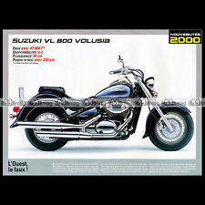 SUZUKI VL 800 VOLUSIA 2000 - Fiche Moto MJ #220