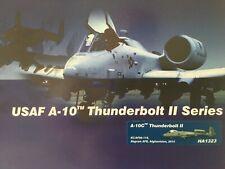 """Hobby Master 1:72 HA1323 """"raros"""" U.s.a.f A-10 Thunderbolt """"Afganistán"""""""