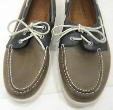 Nice Sperry Top-Sider Brown Leather Boat Shoes Mens sz 12 M