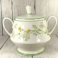 Noritake Ivory China Reverie Sugar Bowl 7191 Butterflies & Flowers
