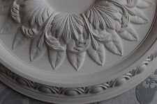 Plaster Ceiling Rose Egg & Dart Design 380mm / 15""