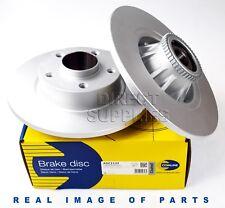 2 X REAR BRAKE DISCS FIT PRIMASTAR RENAULT VAUXHALL 1.9 2.0 2.5 ADC1137