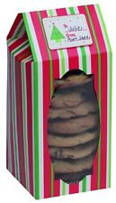 Cookie Boxes Stripes Design - pack of 6