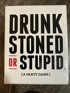Drunk Stoned Or Stupid [A Party Game] - 250 Cards