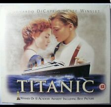 Titanic Collectors Box Edition Exclusive 35mm Film Cell + 8 Cards VHS Video Set