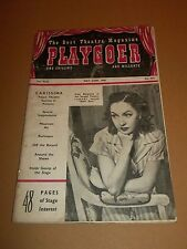 PLAYGOER  ~ MAY / JUNE 1948 MAGAZINE #475 RARE 48 PAGES