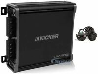 Kicker CXA400.1 400W RMS CX Series Monoblock Class-D Subwoofer Amp+Amp Remote