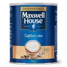 Maxwell House Instant Cappuccino 2 x 750 g Tin