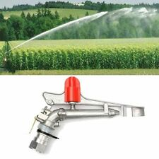 1.5'' Irrigation Spray Gun Sprinkler Gun Large 360° Adjustable Impact Area Water