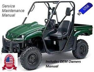 2006 - 2009 Yamaha Rhino YXR450 OEM Owners Manual / Service & Repair Manual
