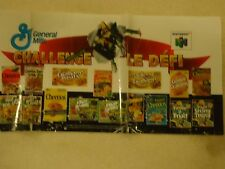 Star Fox 64 Nintendo 64 N64 General Mills Canada Store Display Promo Sign Banner