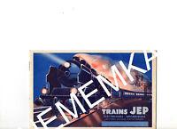 """Ancien Catalogue  """"TRAINS JEP""""  1933 - BROCHURE ETAT NEUF- FORGEACIER"""