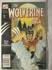 The Wolverine Saga Issue 1-4 (Sept-Dec 1989, Marvel) FP VF-MT