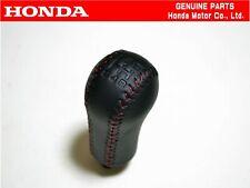 HONDA GENUINE  5MT Leather Red Stitching Shift Knob OEM CIVIC EG6 SIR