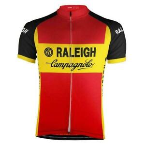Retro 1980 TI Raleigh Vintage Cycling Jersey Short Sleeve