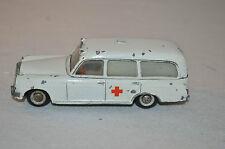 Tekno Denmark 731 Mercedes Ambulance good plus original condition