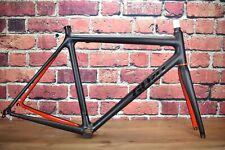 Mint! 1138g GURU Photon SL 55cm Carbon Frameset Matte Black/Red #weightweenie