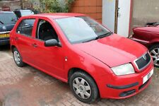 2007 SKODA FABIA MK1 1.2 BMD RED 8151 GEARBOX JHN 5 DOOR WHEEL NUT BREAKING F1.1