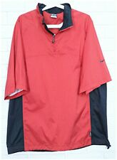 Nike Storm-Fit Short Sleeve Golf Packable Jacket Size L
