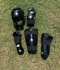 Nwt Century Martial Arts Tae Kwon Do Mma Sparring Gear Black Karate Set