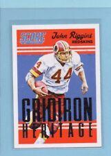 2015 Score John Riggins Washington Redskins Gridiron Heritage Original INV0078