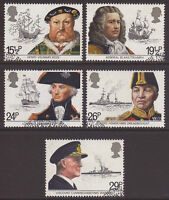 GB 1982 Commemorative Stamps~Maritime~Very Fine Used Set~(ex fdc)UK Seller