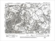 Southampton Portswood, West End, Bitterne, Old Map Hampshire 1910: 65NE