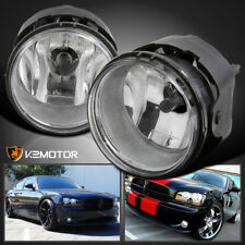 2006-2009 Dodge Charger Caravan Caliber Nitro Bumper Fog Lights w/Switch+Bulbs