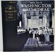 """Music From the Washington Cathedral"" Cathedral Choir of Men & Boys VRS-1036 EX"