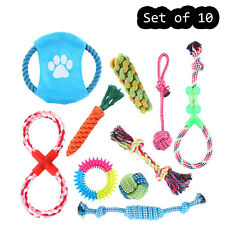 Dog Rope Toys for Small Medium Large Dog Chew Toys for Puppy 10 Pack Durable