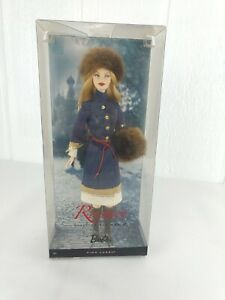 2009 Barbie Russia Dolls of the World Pink Label Collector In Box Pre Owned