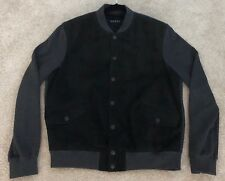100% Authentic!! GUCCI Leather Reversible Varsity Sweater Jacket