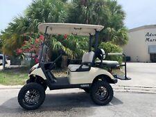 2019 yamaha drive 2 48v 4 seat Passenger golf cart alloy rims lifted excellent