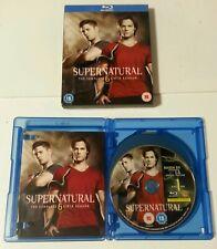BLU-RAY BOX SET - Supernatural The Complete Sixth Season Blu-Ray 2011 Cert 15 TV