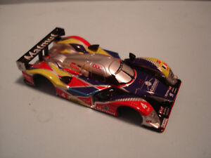 TOMY AFX BODY ONLY PEUGEOT 908 #4 MATMUT NEW FITS MEGA G + 1.7 OR MEGA 1.7