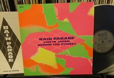RAIN PARADE Live in Japan / Behind the Sunset Enigma/Wave 1985 NM Japan press