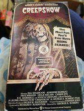 Creepshow (VHS, 1994) Filmed in 1982