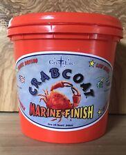 CrystaLac CrabCoat Exterior Clear Satin Finish UV Top Coat, Water Based 1 Quart