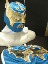 LOT of 3 SIN CARA BLUE WRESTLING MASKS KIDS SIZE niños ENVIO GRATIS free ship
