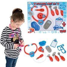 KIDS DOCTORS PLAYSET CHILDRENS NURSE SURGEON CREATIVE EDUCATIONAL ROLE PLAY GAME